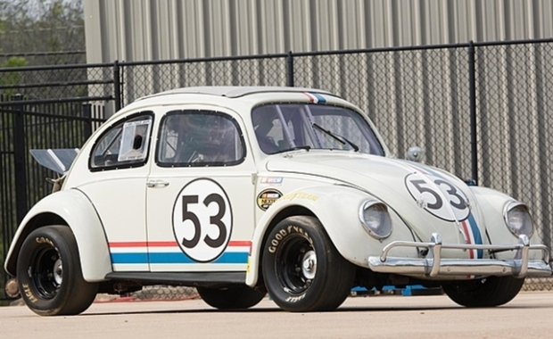 Collection Of Six Herbie Love Bug Movie Cars Up For