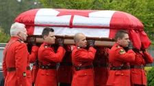Const.Sarah Beckett funeral
