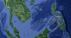 The Philippines are seen in this Google Maps image. (Google Maps)