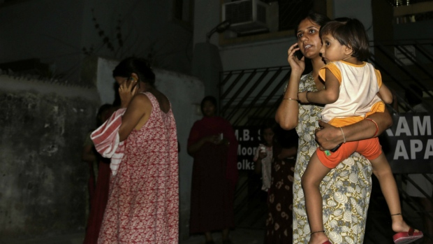 Indian residents feel Burma earthquake