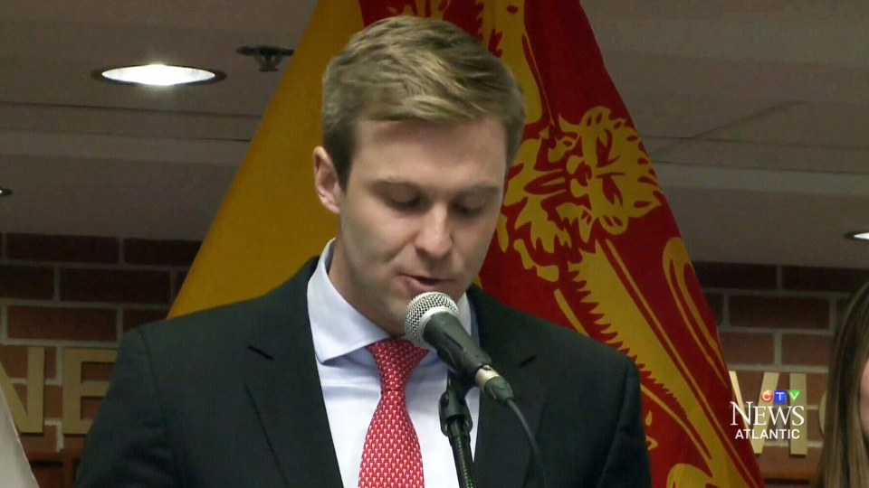 New Brunswick Premier Brian Gallant announced a new bursary to help low- to middle- income students afford university on Thursday, April 14, 2016.