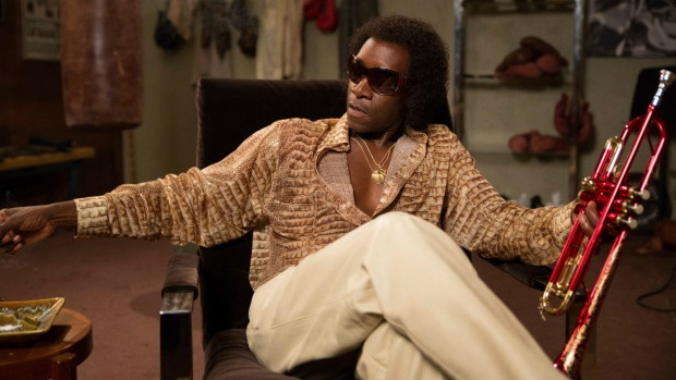 Don Cheadle is seen as Miles Davis in a scene from, 'Miles Ahead.' (Brian Douglas / Sony Pictures Classics)
