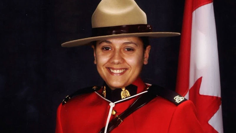 Const. Sarah Beckett is seen in an RCMP handout photo.