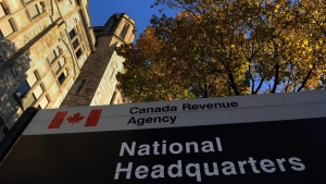 A Canada Revenue Agency building in Ottawa is shown on November 4, 2011. (THE CANADIAN PRESS/Sean Kilpatrick)