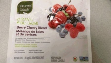 Nature's Touch Berry Cherry Blend recalled
