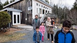 Syrian family in Queensland, Nova Scotia