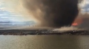 St. Albert Fire Services posted dramatic new video on Twitter Saturday night of a fire tornado that occurred at Big Lake.