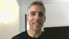 Canadian runner Jean-Paul Bedard