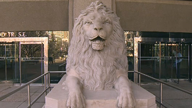 City officials will be revealing details about the new location for the lion statues, which were originally on the Centre Street Bridge until they were moved in 1999.