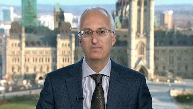 Ottawa Hospital respirologist Dr. Shawn Aaron
