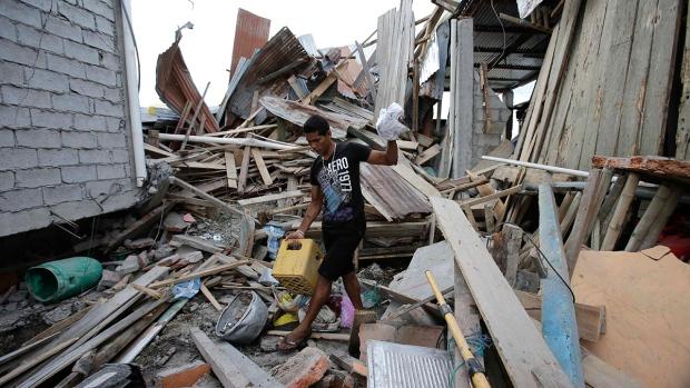 Ecuador says earthquake death toll rises to 413