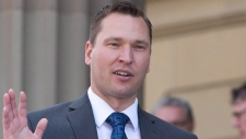 Deron Bilous is pictured on Sunday, May 24, 2015. (THE CANADIAN PRESS/Jason Franson)