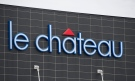 A Le Chateau clothing store is shown near Montreal, Monday, April 18, 2016. (Graham Hughes/THE CANADIAN PRESS IMAGES)