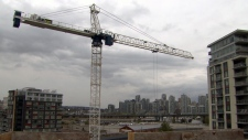 Crane in Burnaby