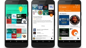 Podcasts on Google Play Music. (Photo from Google)