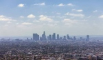 The Los Angeles skyline is seen in this undated file photo.
