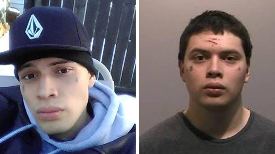 Saskatoon police say 20-year-old Miguel Gomez is wanted on a Canada-wide warrant for second-degree murder in connection to the city's fourth homicide of 2016. (Saskatoon police supplied)