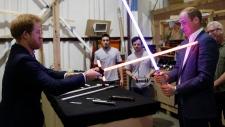 Royals visit Star Wars