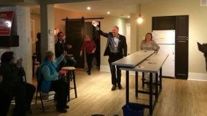 The Manitoba Liberals' only incumbent candidate was able to hang onto his riding on election night.