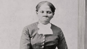 Harriet Tubman in a photograph dating from 1860-75.  (Library of Congress / AP)
