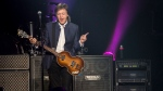 The 73-year-old former Beatle led singalongs to fans of all ages at the first of two shows at Vancouver's Rogers Arena on April 19, 2016. Even with a price tag of $300 for prime seats, and VIP packages going for more than $2,000, the arena was completely sold out. (Photos by Anil Sharma)
