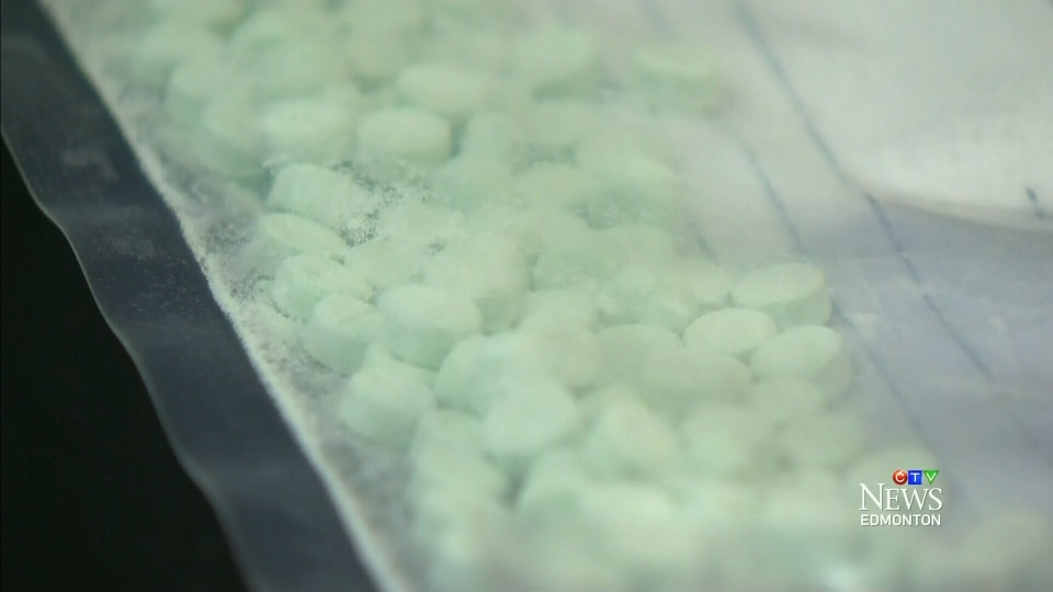 Police seized an undisclosed amount of W-18 pills in Calgary in January, 2016.
