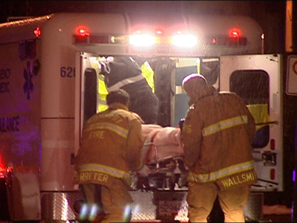 A homeless man in Burnaby is recovering from a brutal and unprovoked attack Saturday, January 10, 2009.