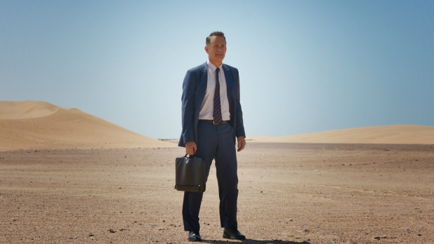 Tom Hanks in 'A Hologram for the King'. (Helmut Prein / Roadside Attractions)
