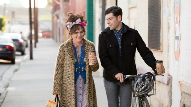 Sally Field and Max Greenfield is 'Hello, my name is Doris.' (Aaron Epstein / Roadside Attractions)