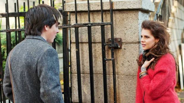 Ferdia Walsh-Peelo and Lucy Boynton in 'Sing Street'. (The Weinstein Company)