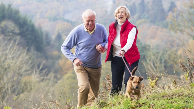 Dog ownsherhip improves senior health