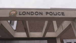 London Police station on Dundas Street