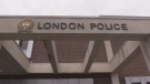 The London Police Service headquarters on Dundas Street in London, Ont. is seen in this file photo.