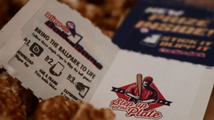 Cracker Jack introduces new Prize Inside where families can scan the sticker inside to enjoy their favorite baseball moments through a one-of-a-kind mobile experience. (PRNewsFoto/Cracker Jack, from PepsiCo's)