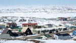 A scene from Iqaluit, Nunavut, Saturday, April 25, 2015. (THE CANADIAN PRESS / Paul Chiasson)