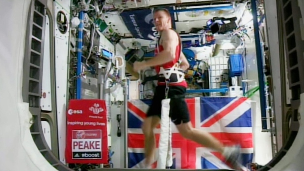 Being In Space Is No Excuse To Miss The London Marathon