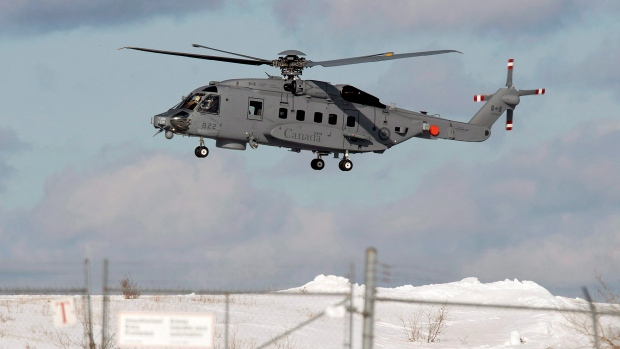 Canadian navy helicopters