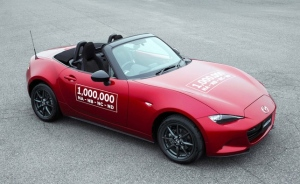 Mazda celebrates milestone one-millionth MX-5 Miata (Photo: Mazda)