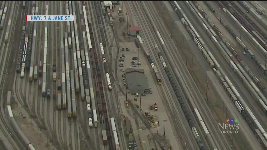 vaughan rail yard