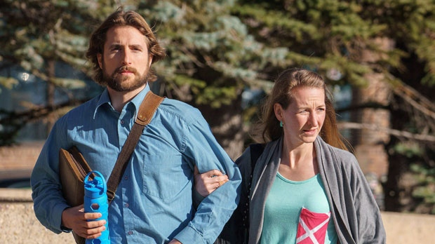David Stephan and his wife Collet Stephan, parents of a toddler who died of meningitis, have been granted a retrial after being convicted of failing to provide the necessaries of life. (The Canadian Press/David Rossiter)