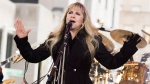 "Stevie Nicks from the band Fleetwood Mac performs on NBC's ""Today"" show on Thursday, Oct. 9, 2014, in New York. (Photo by Charles Sykes/Invision/AP)"