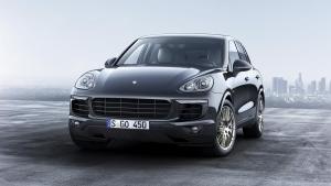 Porsche Cayenne S E-Hybrid Platinum Edition. (Porsche AG)