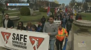 Annual National Day of Mourning walk held
