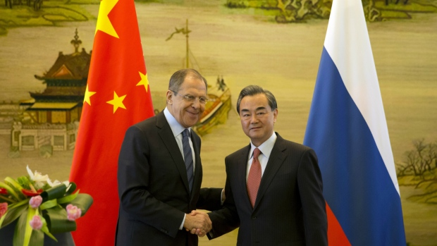 Russia china in agreement on north korea and south china sea ctv news russia china announce agreement platinumwayz