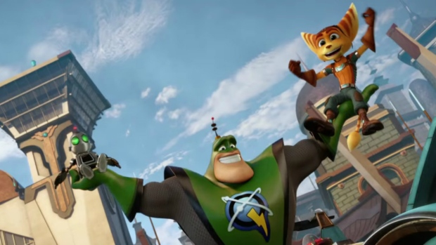 A scene from 'Ratchet and Clank.'