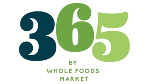 The logo for 365 by Whole Foods Market. (Whole Foods via AP)