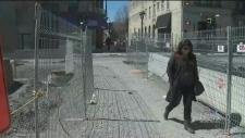 Very few pedestrians
