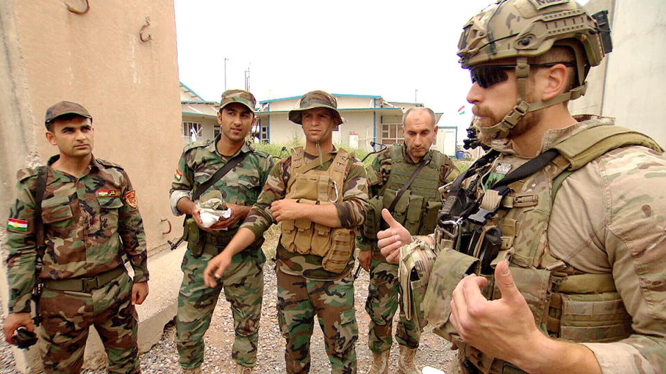 Canadian soldiers in Iraq