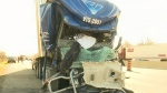 CTV Kitchener: 401 truck collision