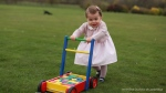 Kensington Palace has released new photos of Princess Charlotte to mark her first birthday. (The Duchess of Cambridge / @KensingtonRoyal)